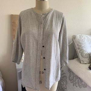 Vince Linen Button down shirt